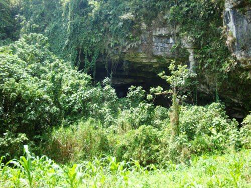 Paseo por Mexico Las grutas en Atlequizayan