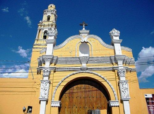 Paseo por Mexico Iglesia de San Félix Papa en Atlixco