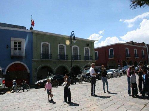 Paseo por Mexico Portal Hidalgo y Portal Morelos en Atlixco