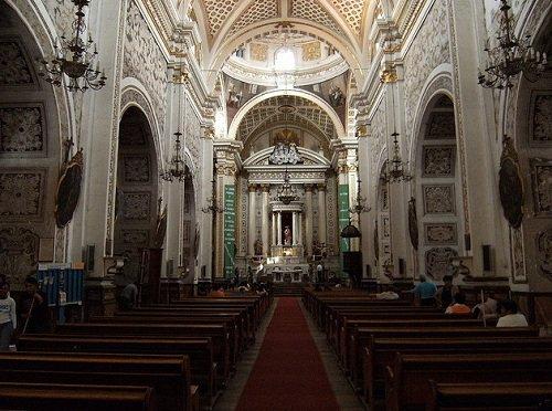 Paseo por Mexico Interior de Parroquia de la Natividad en Atlixco