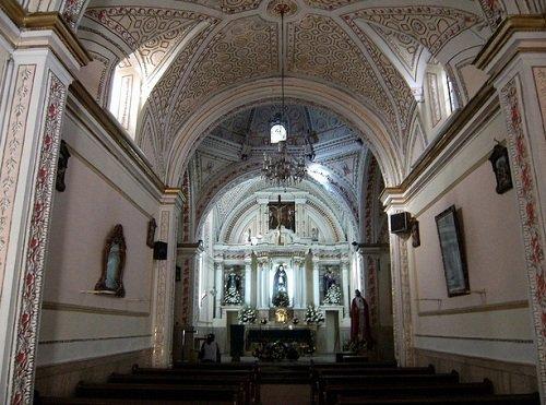 Paseo por Mexico Interior de Parroquia de Acapetlahuacan (Templo de la Soledad) de Atlixco