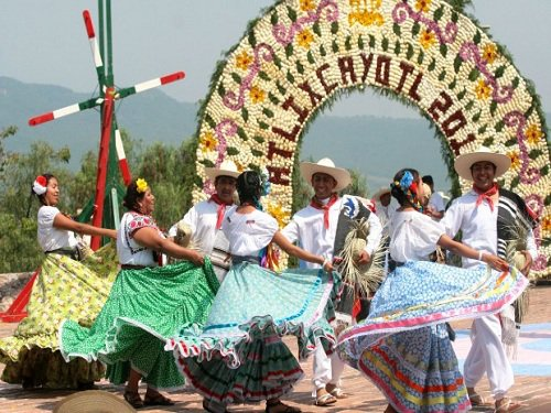 Paseo por Mexico El Huey Atlixcáyotl