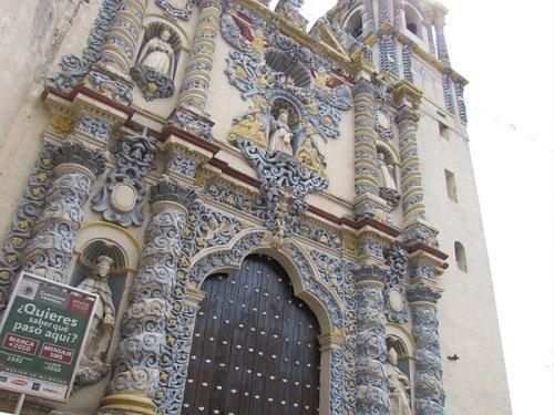 Paseo por Mexico Iglesia de la Merced en Atlixco