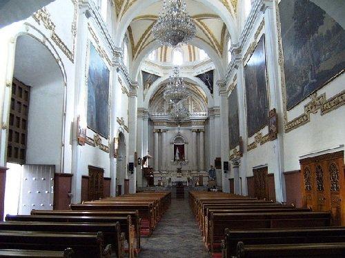 Paseo por Mexico Interior de Iglesia de San Agustín en Atlixco