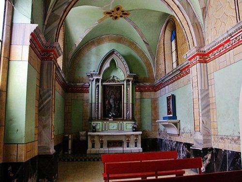 Paseo por Mexico Interior de La parroquia de San Antonio en Atzitzintla