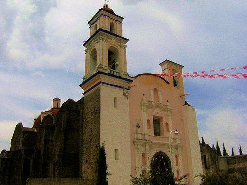 Paseo por Mexico Parroquia de San Andrés Calpan