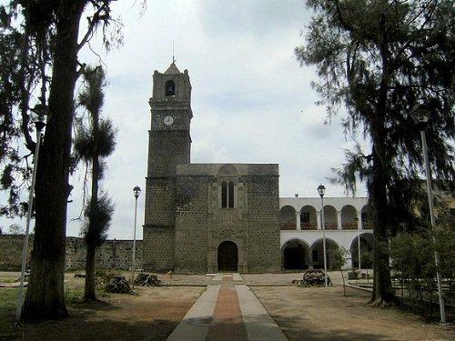 Paseo por Mexico Ex Convento Franciscano de Calpan