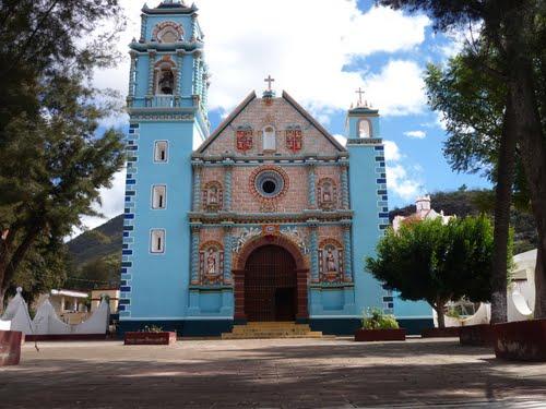 Paseo por Mexico Parroquia de Santa María de la Asunción en Caltepec