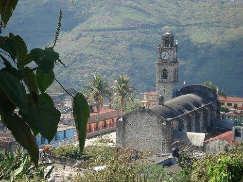 Paseo por Mexico Templo parroquial de San Francisco de Asís en Caxhuacan