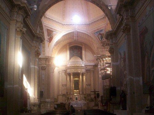 Paseo por Mexico Interior de Iglesia de Guadalupe en Chalchicomula de Sesma