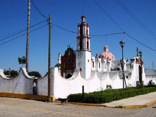 Paseo por Mexico Iglesia Parroquial de Chiconcuautla