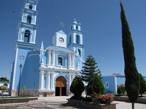 Paseo por Mexico Templo parroquial Chigmecatitlán