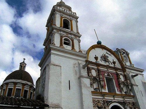 Paseo por Mexico Iglesia del Señor Santiago Apóstol Chignahuapan