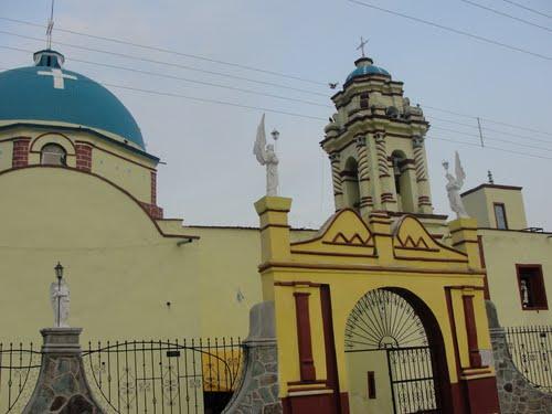 Paseo por Mexico Iglesia Parroquial de Chila de la Sal