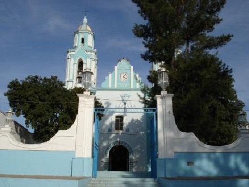 Paseo por Mexico Iglesia Parroquial de Chila de las Flores