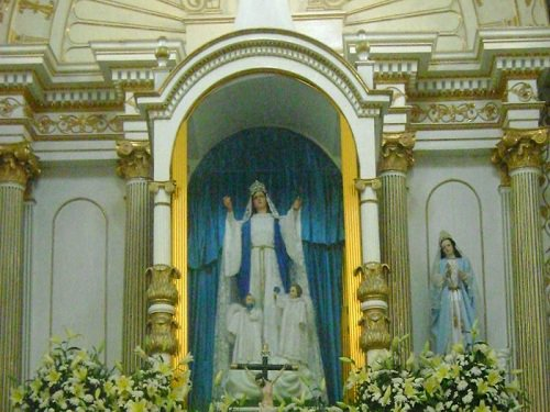 Paseo por Mexico Interior de Iglesia Parroquial de Chila de las Flores