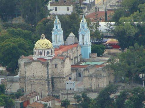 Paseo por Mexico Convento Dominico de Chila de las Flores