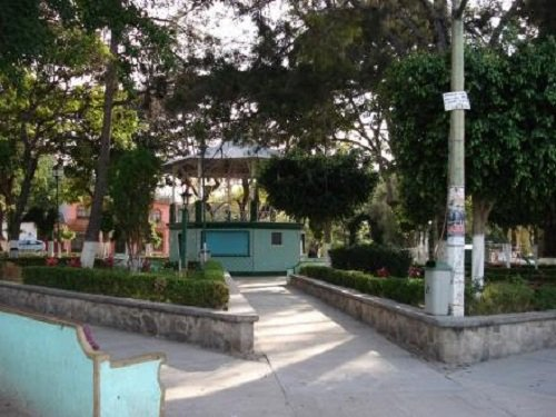 Paseo por Mexico Zócalo de Chila de las Flores