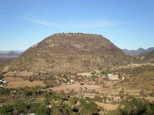 Paseo por Mexico Cerro de La Tortuga de Chila de las Flores