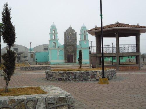 Paseo por Mexico Parroquia de La Trinidad en Chilchotla