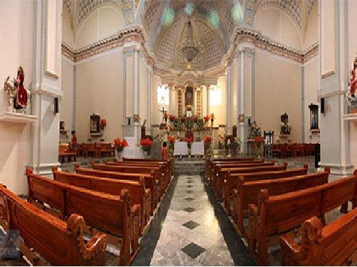 Paseo por Mexico Interior de Templo del Divino Rostro en Coatzingo