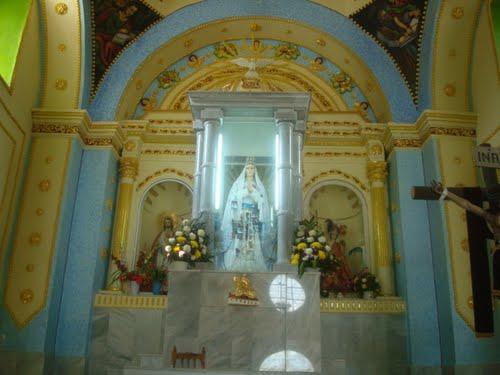 Paseo por Mexico Interior de Templo parroquial de Santa María de la Asunción en Cohetzala