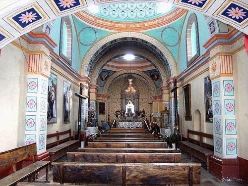 Paseo por Mexico Interior de Templo de Jesús Nazareno en Cohuecán