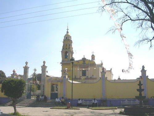 Paseo por Mexico Iglesia de San Antonio Mihuacan en Coronango