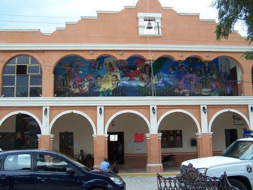 Paseo por Mexico Palacio Municipal Coxcatlán