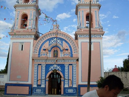 Paseo por Mexico Iglesia Parroquial de Coyotepec
