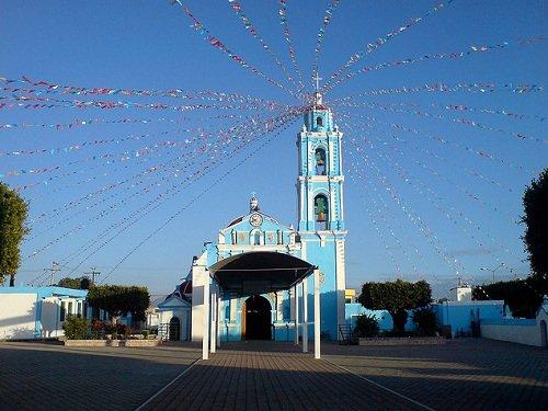 Paseo por Mexico La Iglesia parroquial de Santa Catarina en Cuapiaxtla de Madero