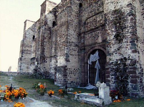 Paseo por Mexico Alrededores de ex convento Franciscano de Cuautinchán