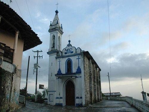 Paseo por Mexico Capilla de la Purísima Concepción en Cuetzalan del Progreso
