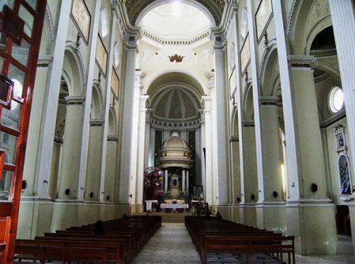 Paseo por Mexico Interior de Iglesia de San Francisco en Cuetzalan del Progreso