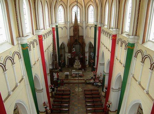 Paseo por Mexico Interior de Santuario de Guadalupe en Cuetzalan del Progreso