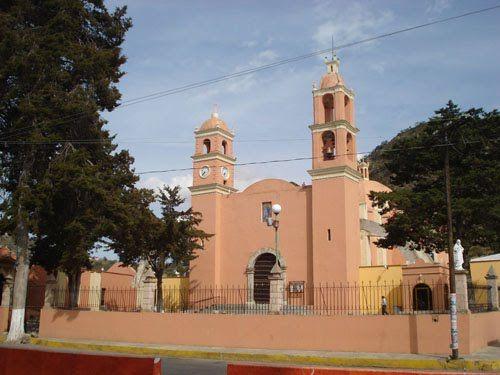 Paseo por Mexico Iglesia parroquial de Cuyoaco