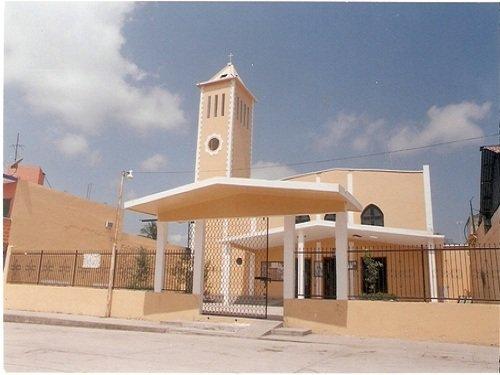 Paseo por Mexico Templo parroquial de San Isidro Labrador en Francisco Z. Mena