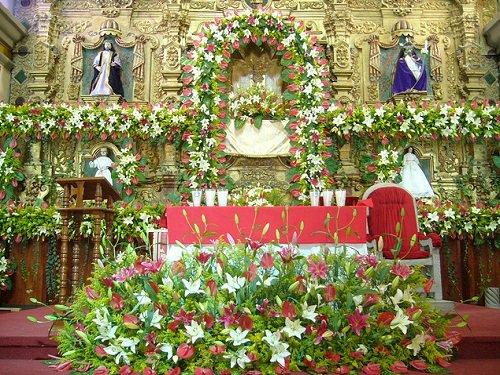 Paseo por Mexico Altar de Iglesia de San Pablo en General Felipe Angeles