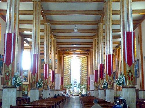 Paseo por Mexico Interior de Iglesia en honor a la Virgen de Guadalupe en Guadalupe Victoria
