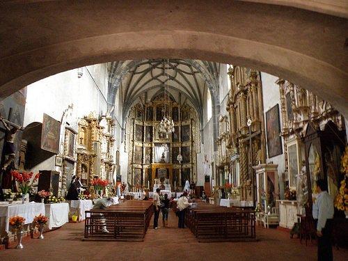 Paseo por Mexico Interior de Ex convento de Huaquechula