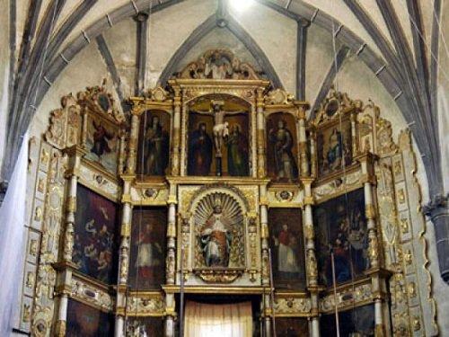 Paseo por Mexico Altar de Ex convento de Huaquechula