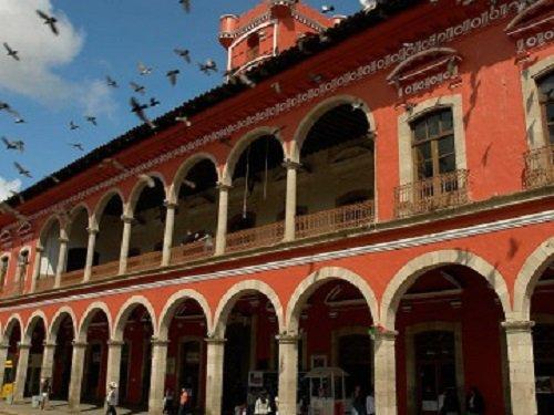 Paseo por Mexico Zócalo de Huauchinango
