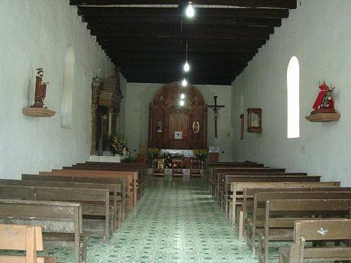 Paseo por Mexico Interior de Parroquia de San Miguel Antigua en Huauchinango