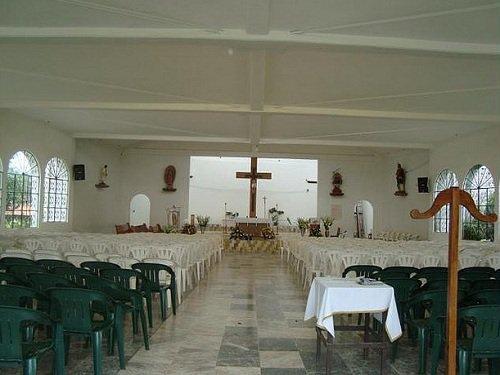 Paseo por Mexico Interior de Parroquia de San Miguel Nueva en Huauchinango