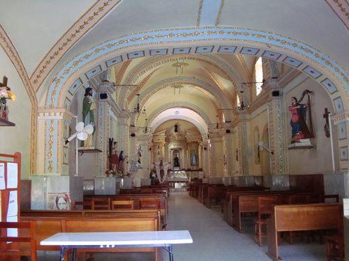 Paseo por Mexico Interior de Templo de San Nicolás de Huehuetlán el Chico