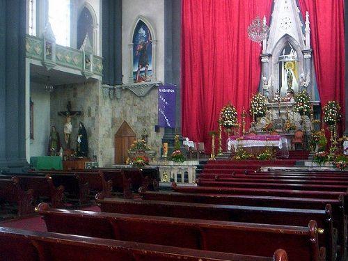 Paseo por Mexico Interior de Iglesia de Nuestra Señora del Carmen en Huejotzingo
