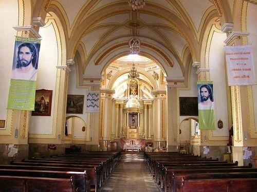 Paseo por Mexico Interior de Parroquia de San Miguel Arcángel en Huejotzingo