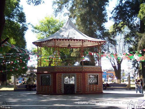Paseo por Mexico Kiosco de Huejotzingo