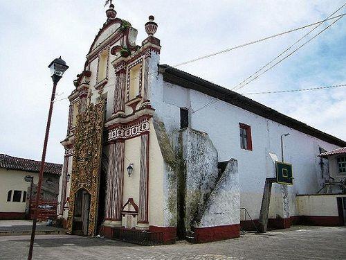 Paseo por Mexico Templo de San Andrés Hueyapan