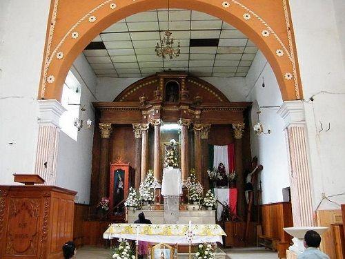 Paseo por Mexico Interior de Templo de San Andrés Hueyapan